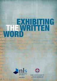 Exhibiting the Written Word cover