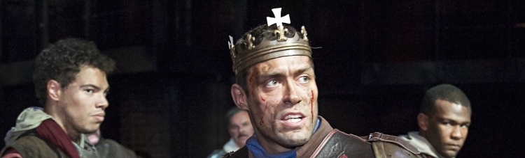 Alex Hassell as Henry V: 'the story of a fairly mixed-up young man trying to do his best.'